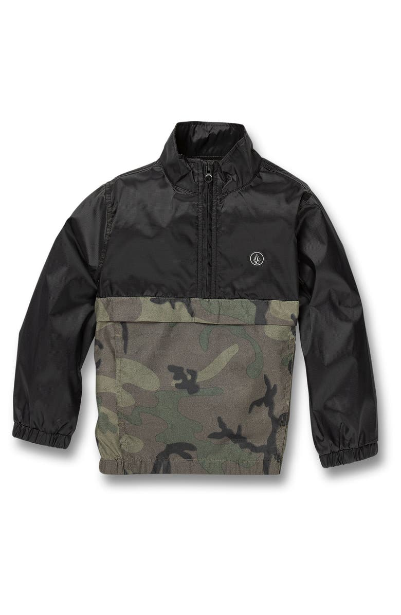 VOLCOM Wilfred Pullover Jacket, Main, color, CAMOUFLAGE