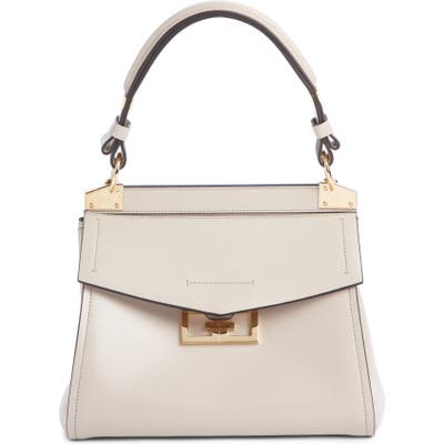 Givenchy Small Mystic Leather Satchel - Beige