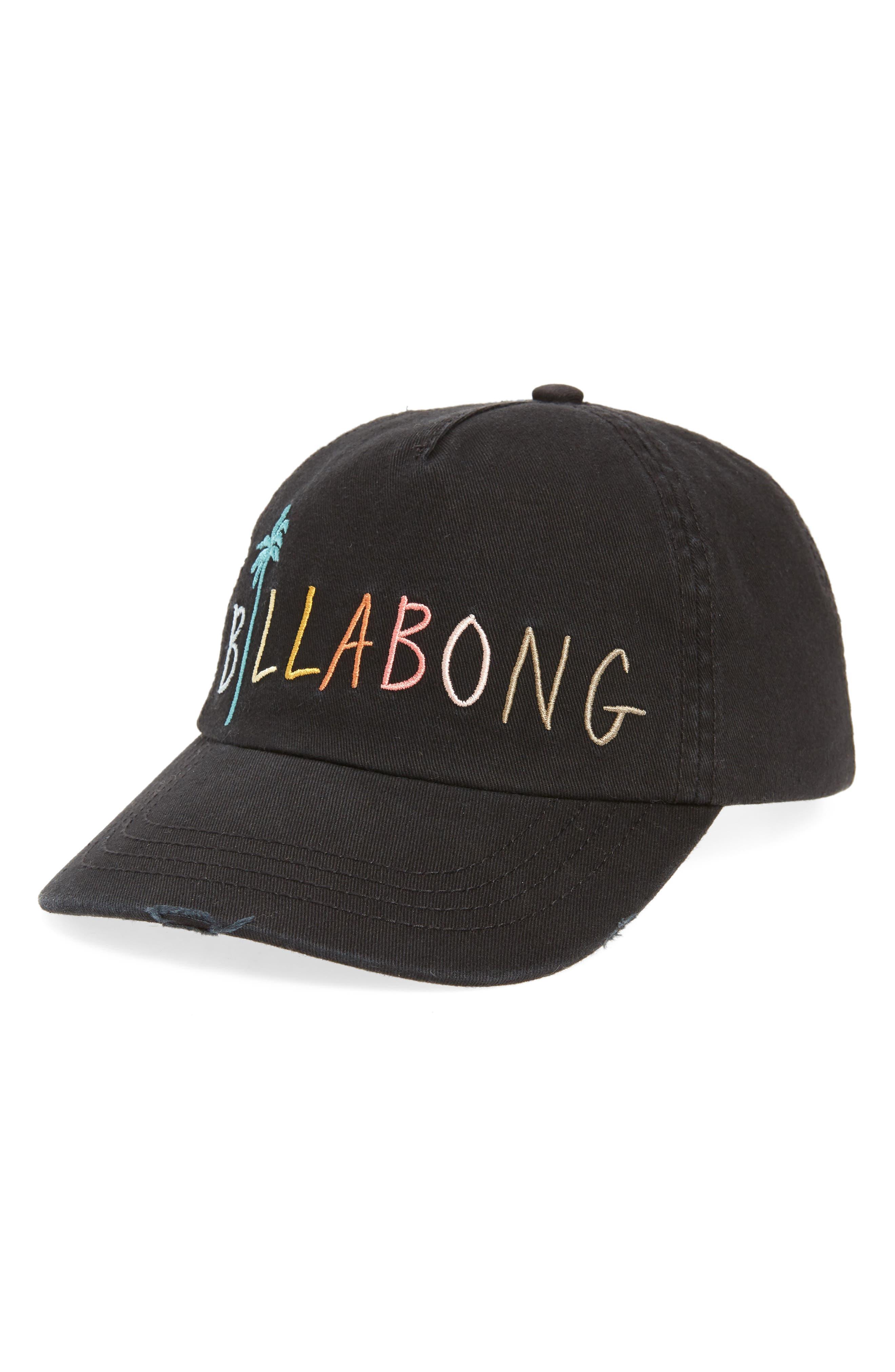 Surf Club Baseball Cap, Main, color, OFF BLACK
