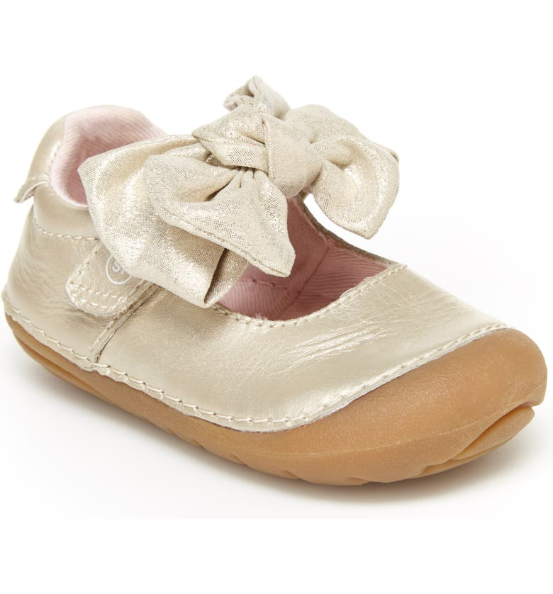 STRIDE RITE Soft Motion<sup>™</sup> Esme Mary Jane Shoe, Main, color, CHAMPAGNE