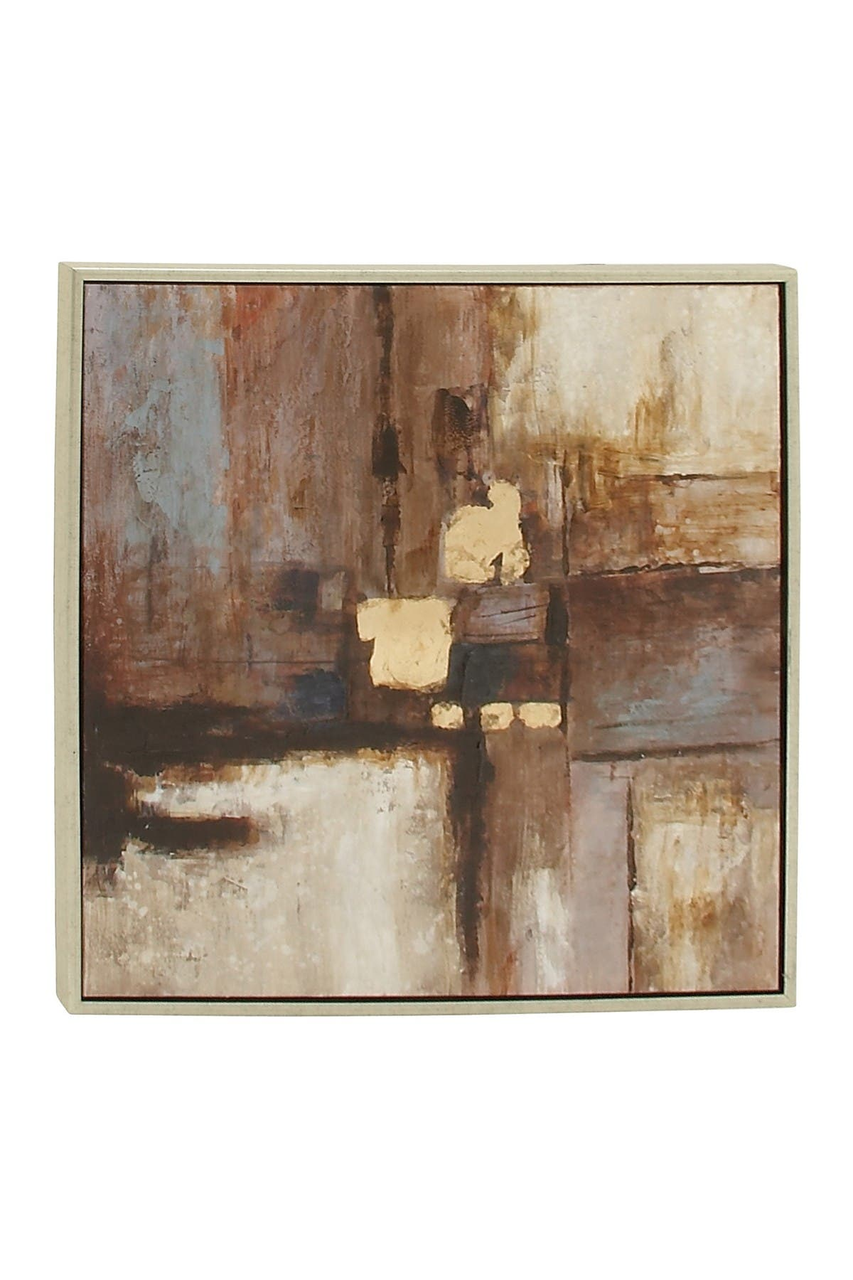 Willow Row Contemporary Abstract Fir & Resin Framed Canvas Art at Nordstrom Rack