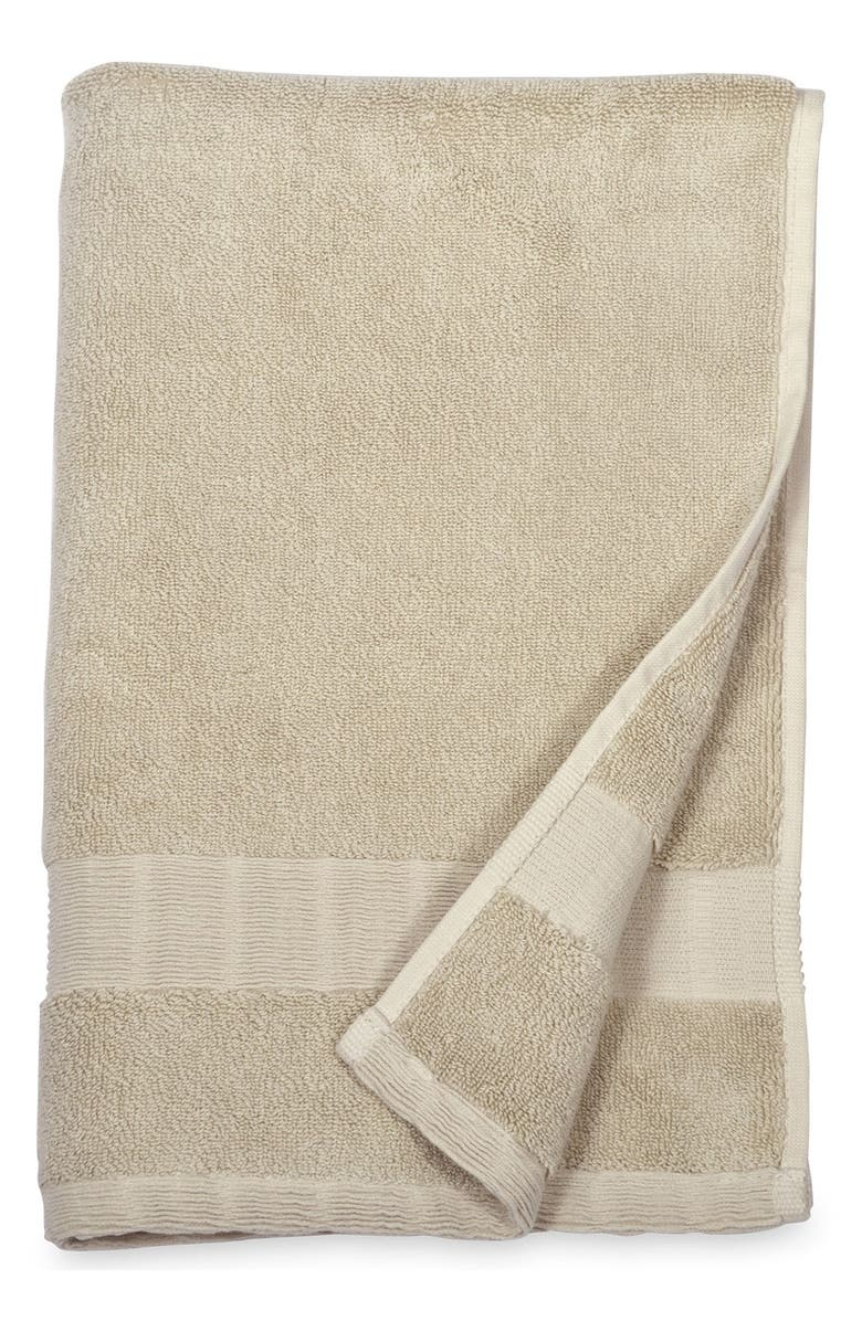 DKNY Mercer Hand Towel, Main, color, STONE