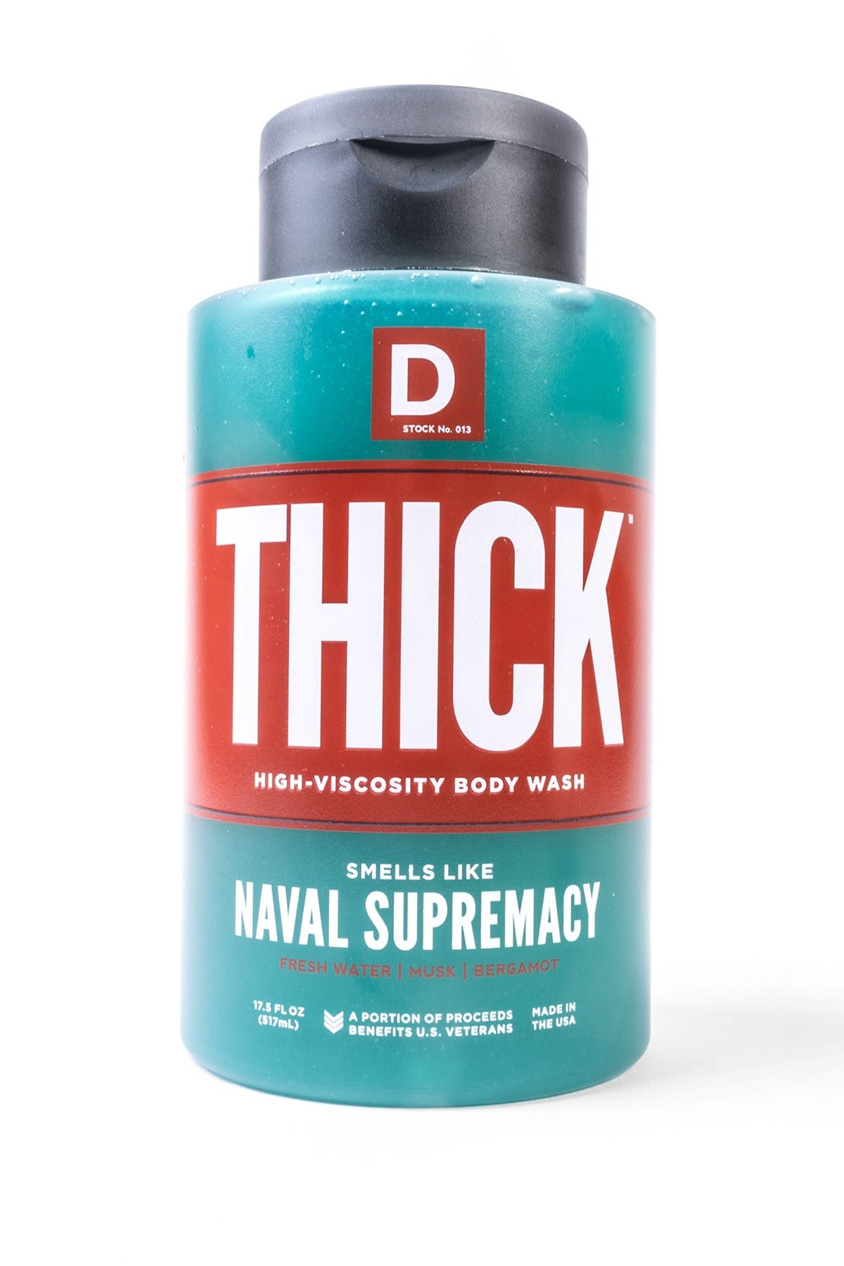 Image of DUKE CANNON THICK High-Viscosity Shower Soap - Naval Diplomacy