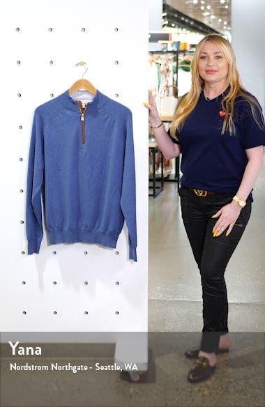 Sonoma Quarter Zip Merino Wool Blend Pullover, sales video thumbnail
