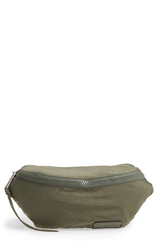 Rebecca Minkoff Nylon Belt Bag In Olive