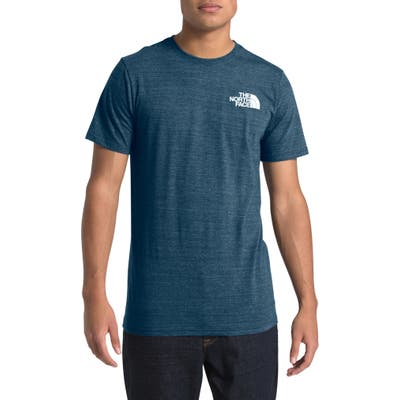 The North Face Archived Triblend Short Sleeve T-Shirt, Blue