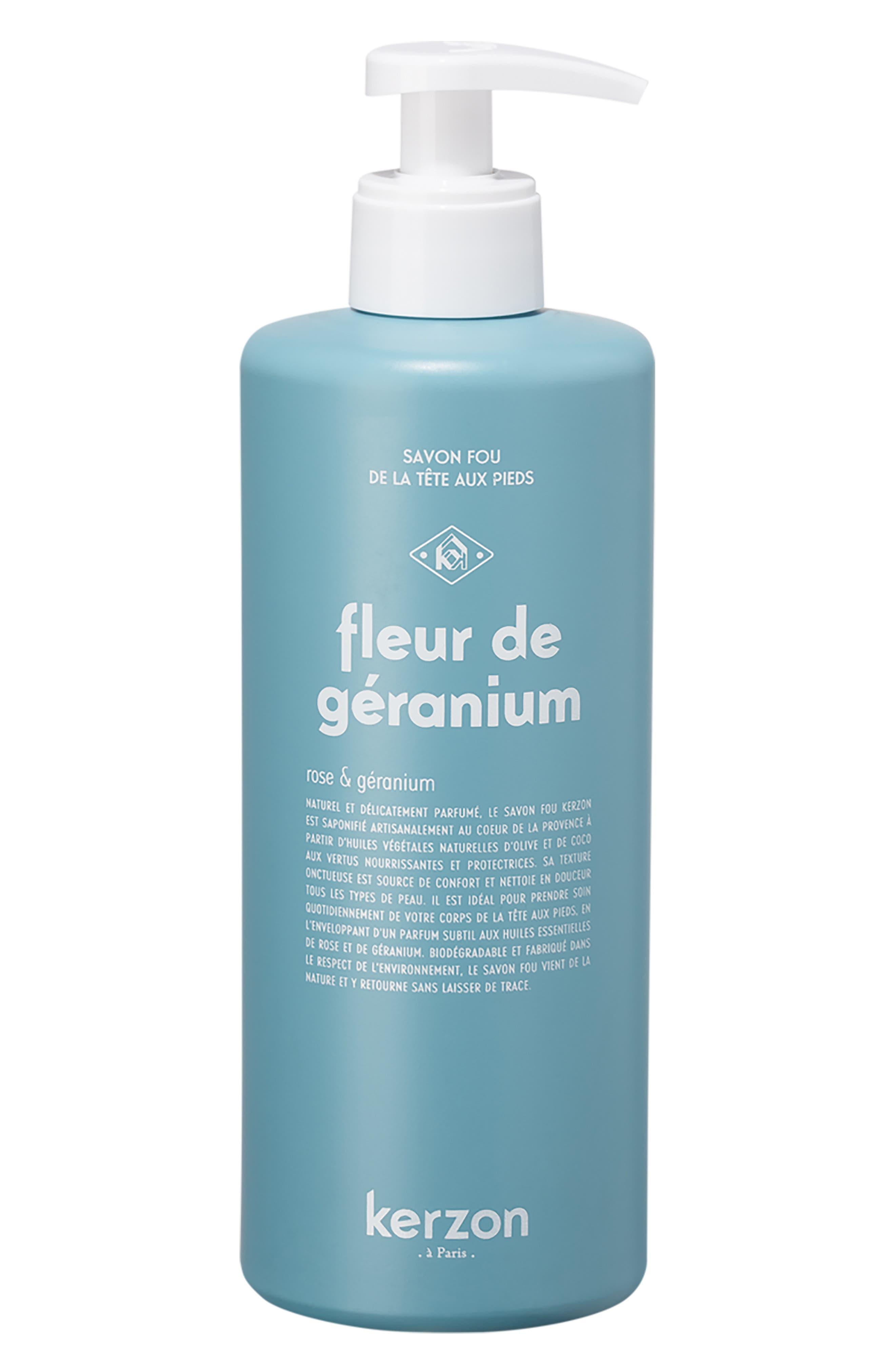 Fleur De Geranium Liquid Soap