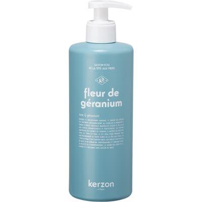 Kerzon Fleur De Geranium Liquid Soap