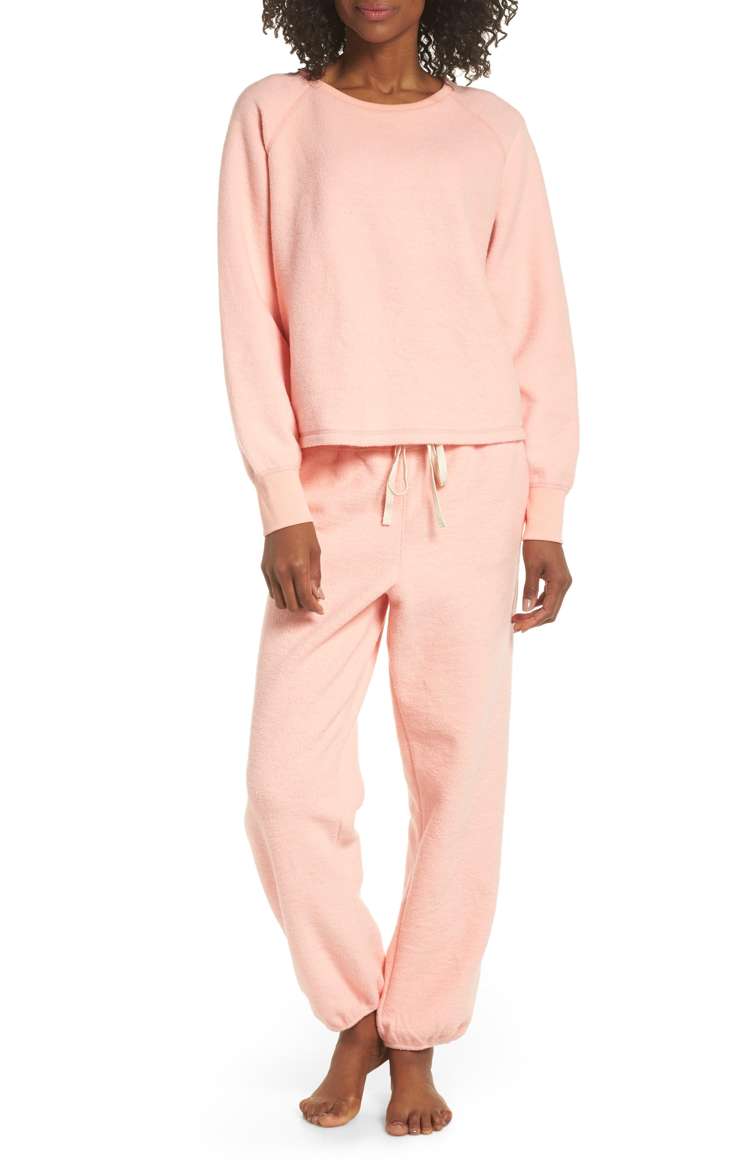 ,                             Fleece Pajama Sweatpants,                             Alternate thumbnail 24, color,                             650