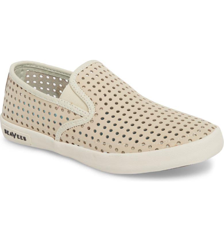 SEAVEES Baja Perforated Slip-On Sneaker, Main, color, 260