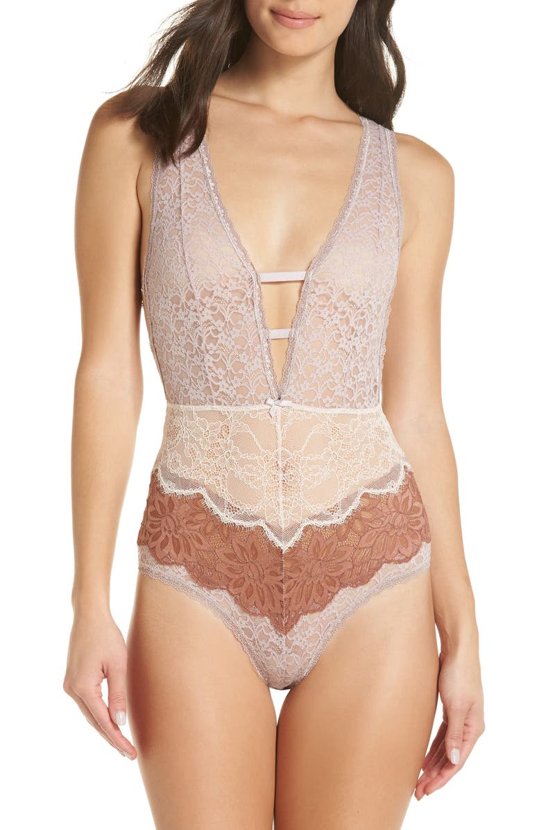 FREE PEOPLE Intimately FP Not Yours Bodysuit, Main, color, 111
