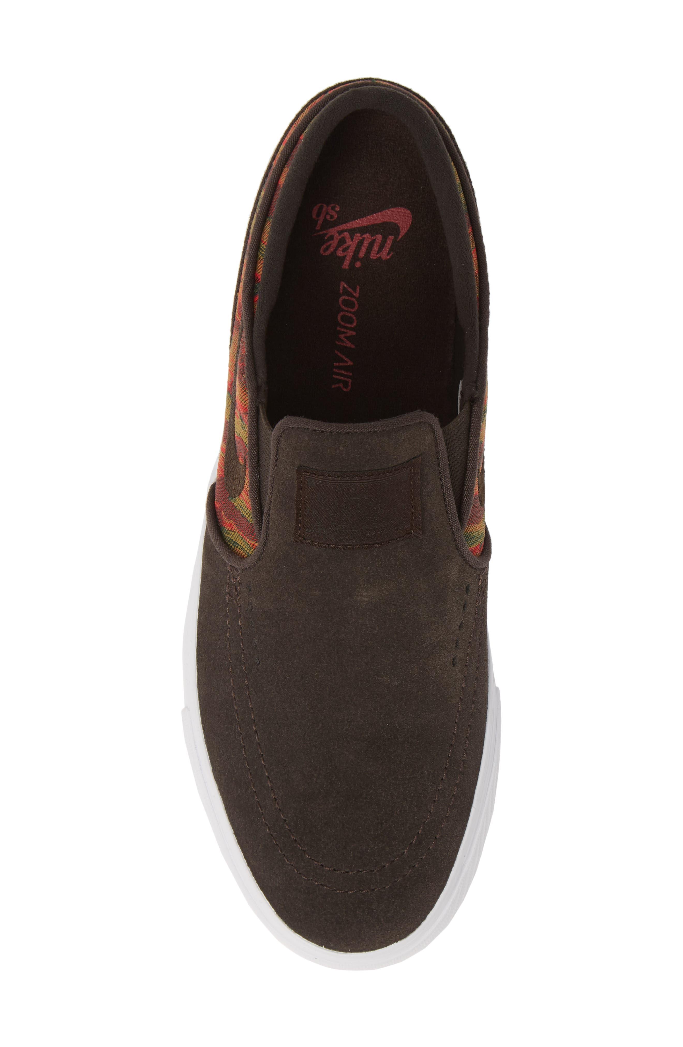 ,                             'SB Zoom Stefan Janoski' Slip-On Premium Sneaker,                             Alternate thumbnail 5, color,                             200