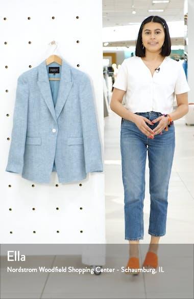 Heather Linen Jacket, sales video thumbnail