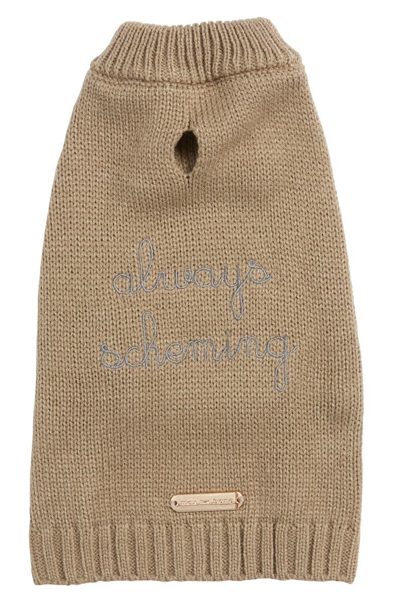 MAX-BONE Always Scheming Dog Sweater, Main, color, 250