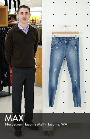 Sarah Distressed Skinny Jeans, sales video thumbnail