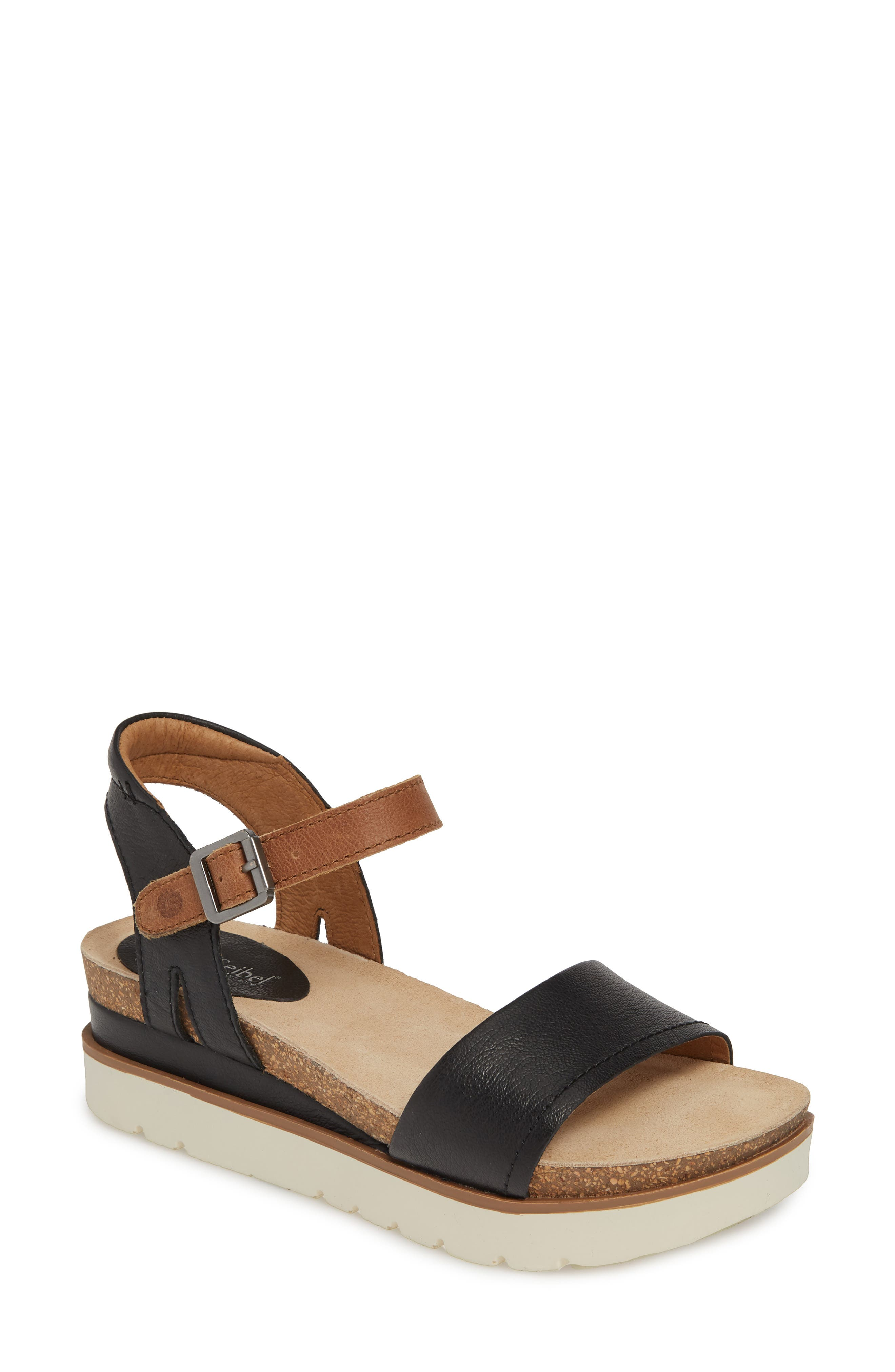 Whether you\\\'re on vacation or staycation, keep comfortable in this sporty-chic platform sandal made with a durable sole that flexes with your foot. Style Name: Josef Seibel Clea 01 Platform Sandal (Women). Style Number: 5738691 1. Available in stores.