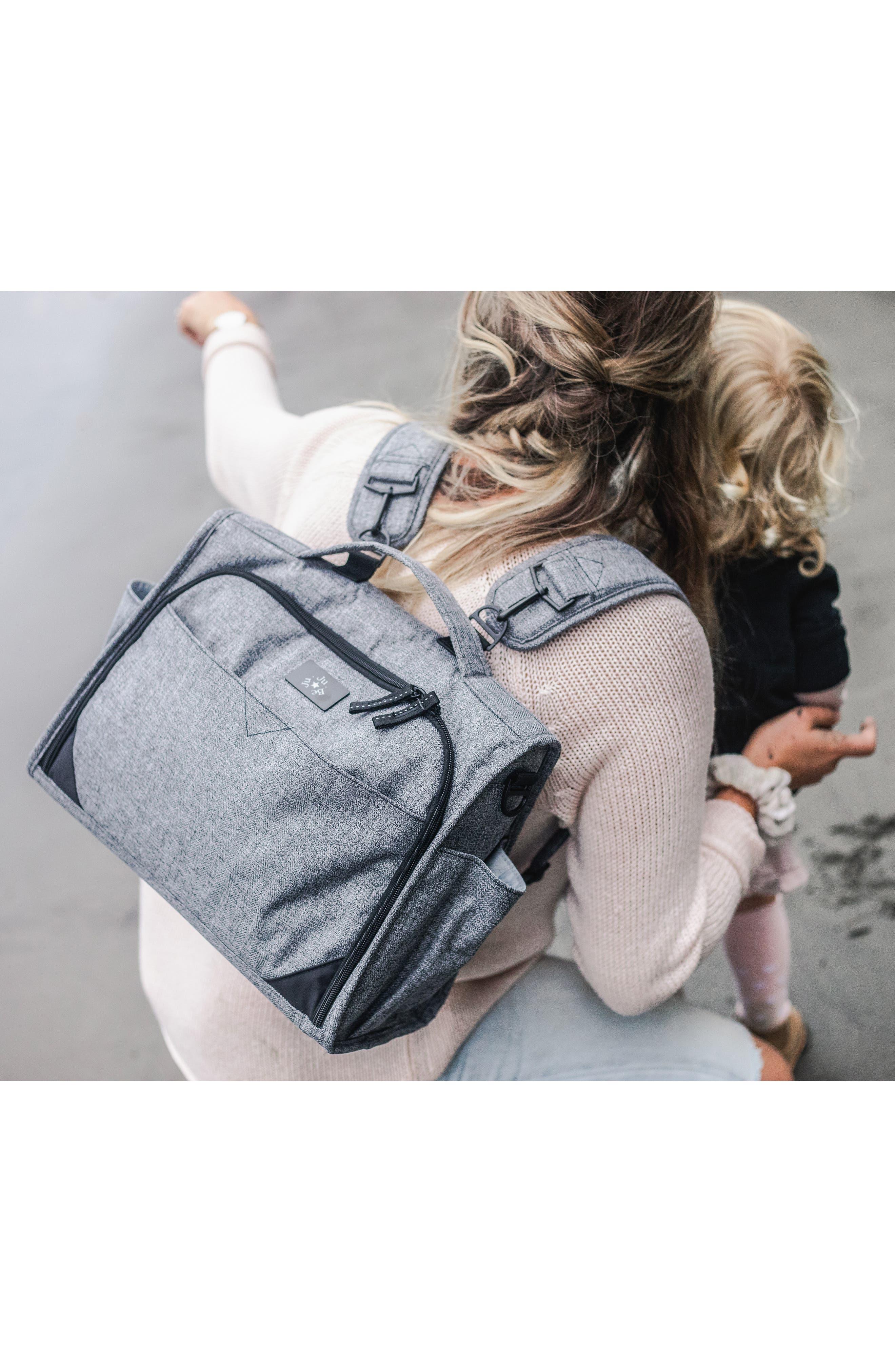 ,                             Classical Convertible Diaper Bag,                             Alternate thumbnail 7, color,                             GRAPHITE