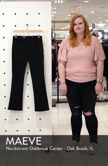 Jodi Sateen Crop Flare Jeans, sales video thumbnail