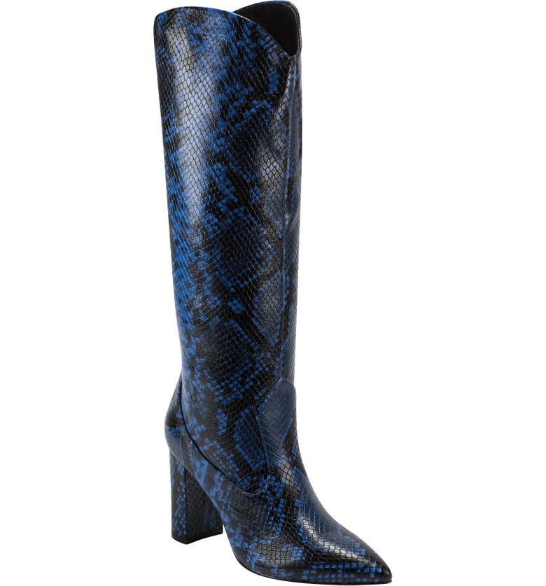 MARC FISHER LTD Uday Boot, Main, color, AZZURO