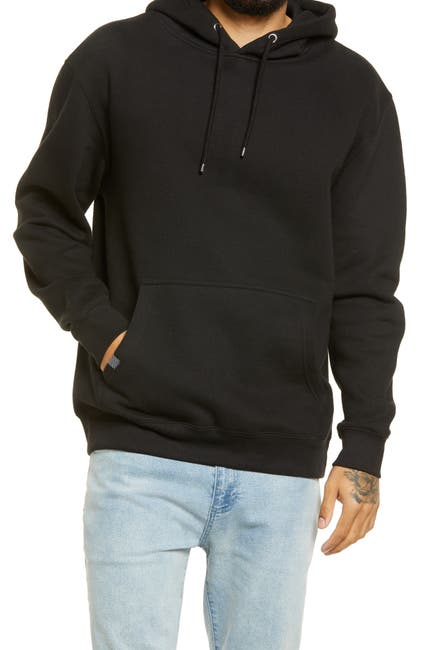 Image of LIRA CLOTHING Drawstring Knit Hoodie