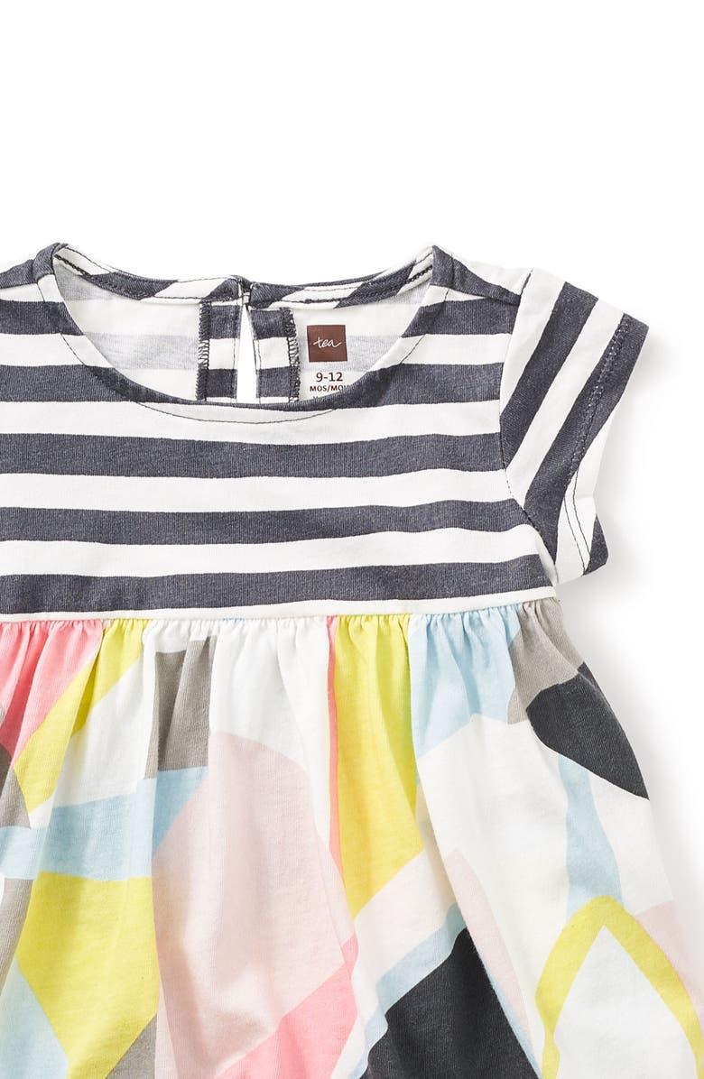 6af137443 Tea Collection Opera House Romper Dress (Baby Girls) | Nordstrom