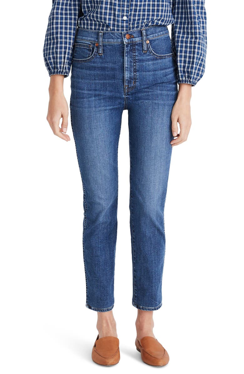 MADEWELL Stovepipe Jeans, Main, color, ANTOINE