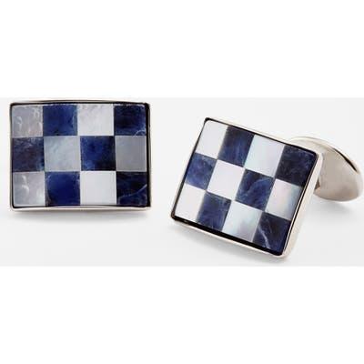 David Donahue Checkerboard Cuff Links