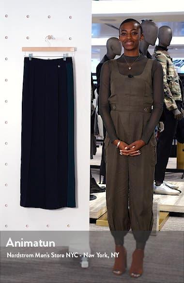 Contrast Panel Wide Leg Pants, sales video thumbnail