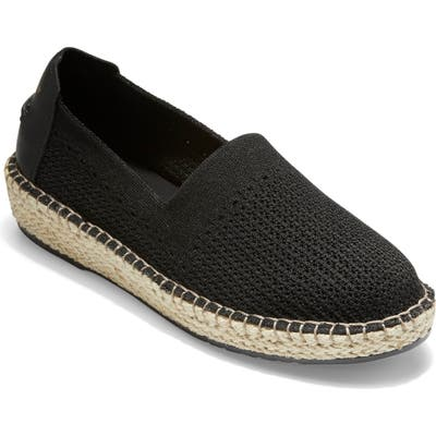 Cole Haan Cloudfeel Stitchlite Espadrille B - Black