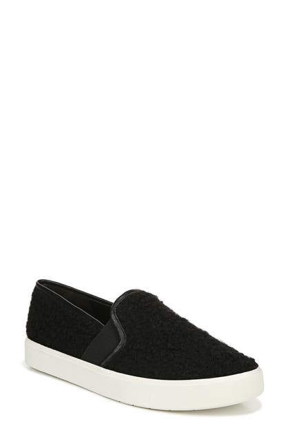Image of Vince Blair 5 Faux Shearling Slip-On Sneaker