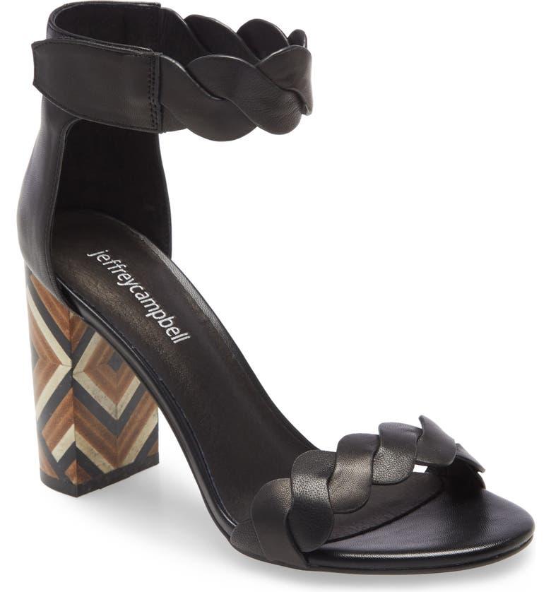 JEFFREY CAMPBELL Ankle Strap Sandal, Main, color, 014