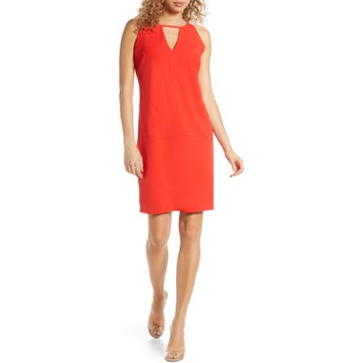 Sam Edelman Keyhole Shift Dress, Orange