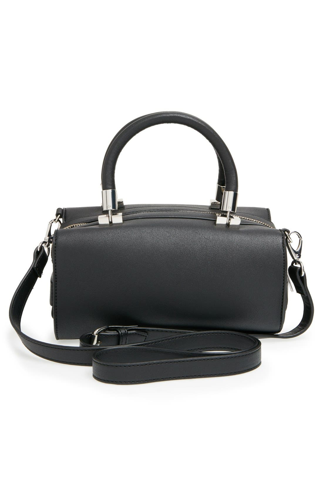 ,                             'Whitney' Faux Leather Crossbody Bag,                             Alternate thumbnail 2, color,                             001