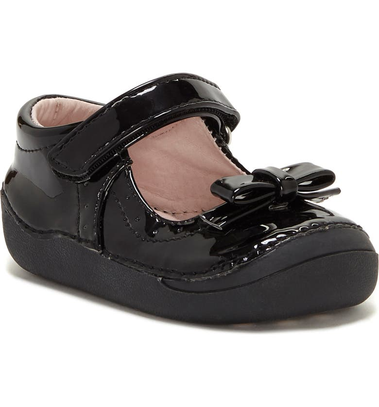 SOLE PLAY Gracelyn Mary Jane Flat, Main, color, BLACK