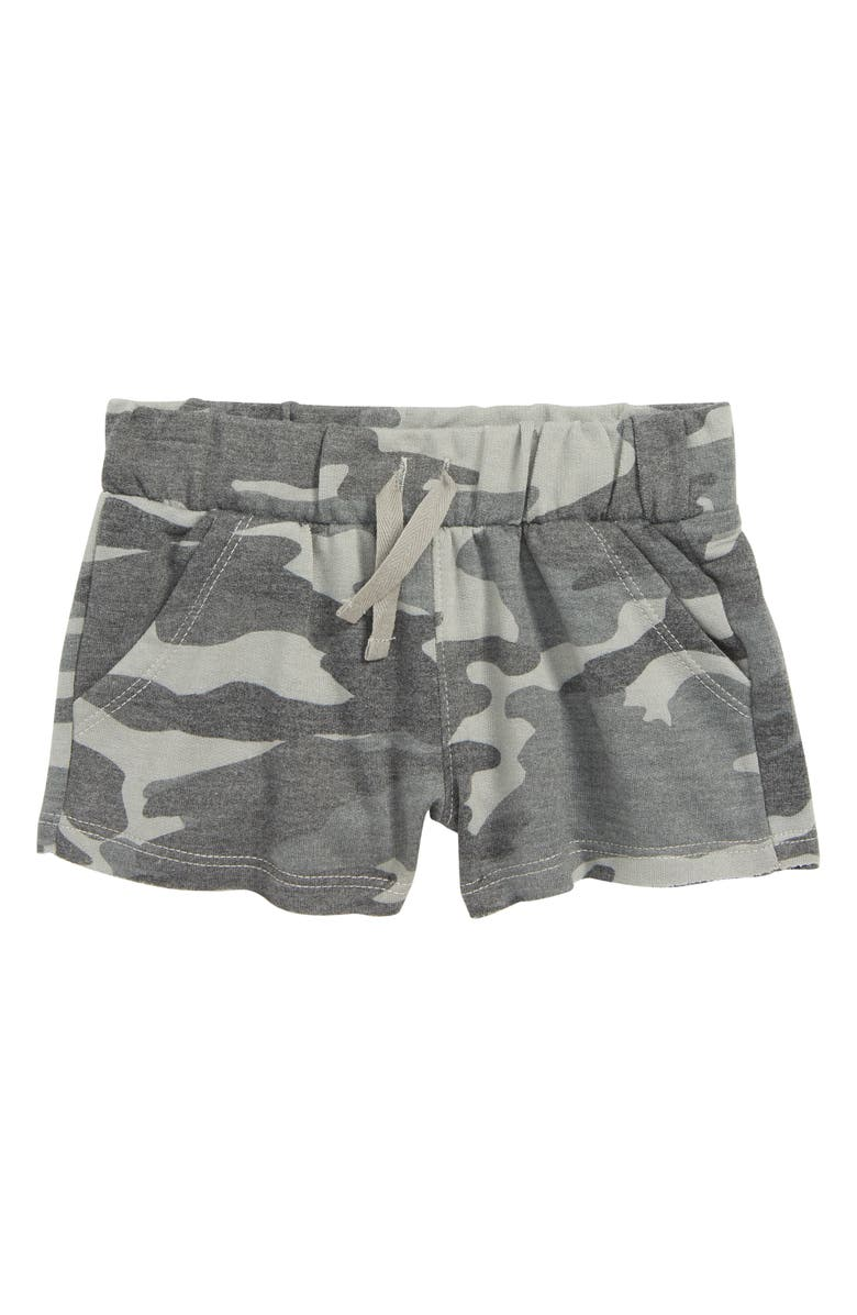 SPLENDID Camo Shorts, Main, color, DUSTY OLIVE