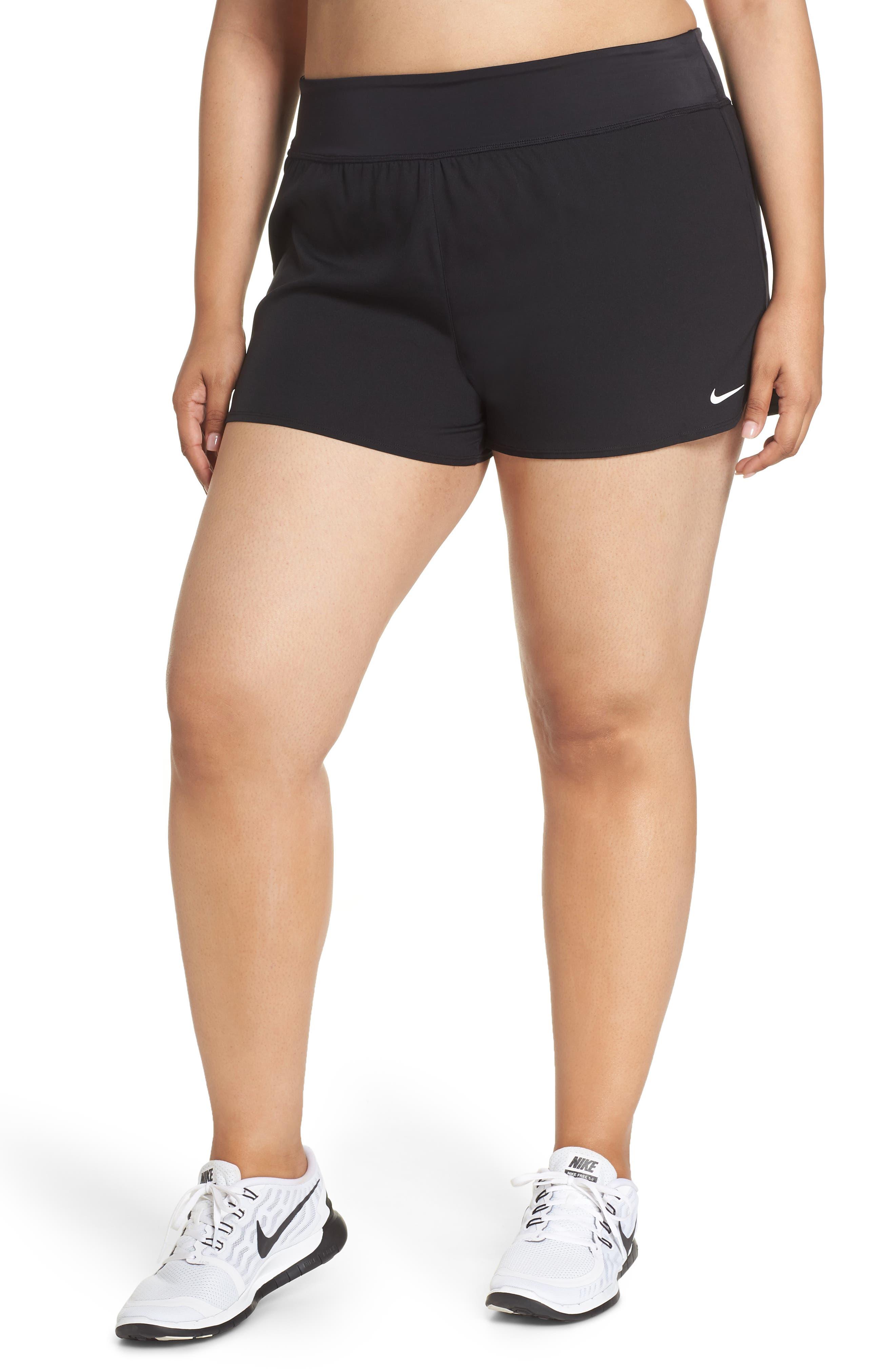 Plus Size Nike Swim Board Shorts, Black