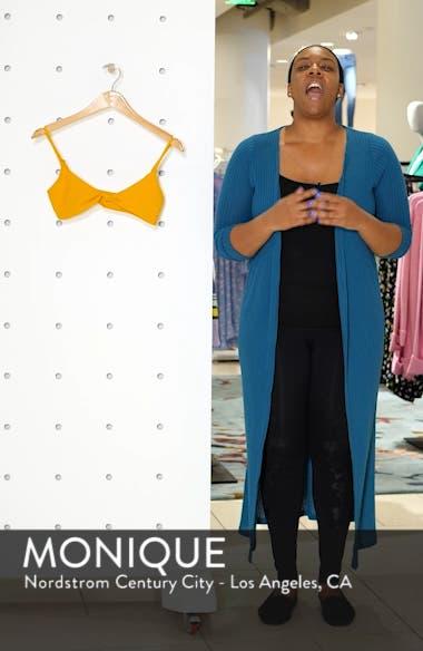 O'Neil Salt Water Solids Knot Bikini Top, sales video thumbnail