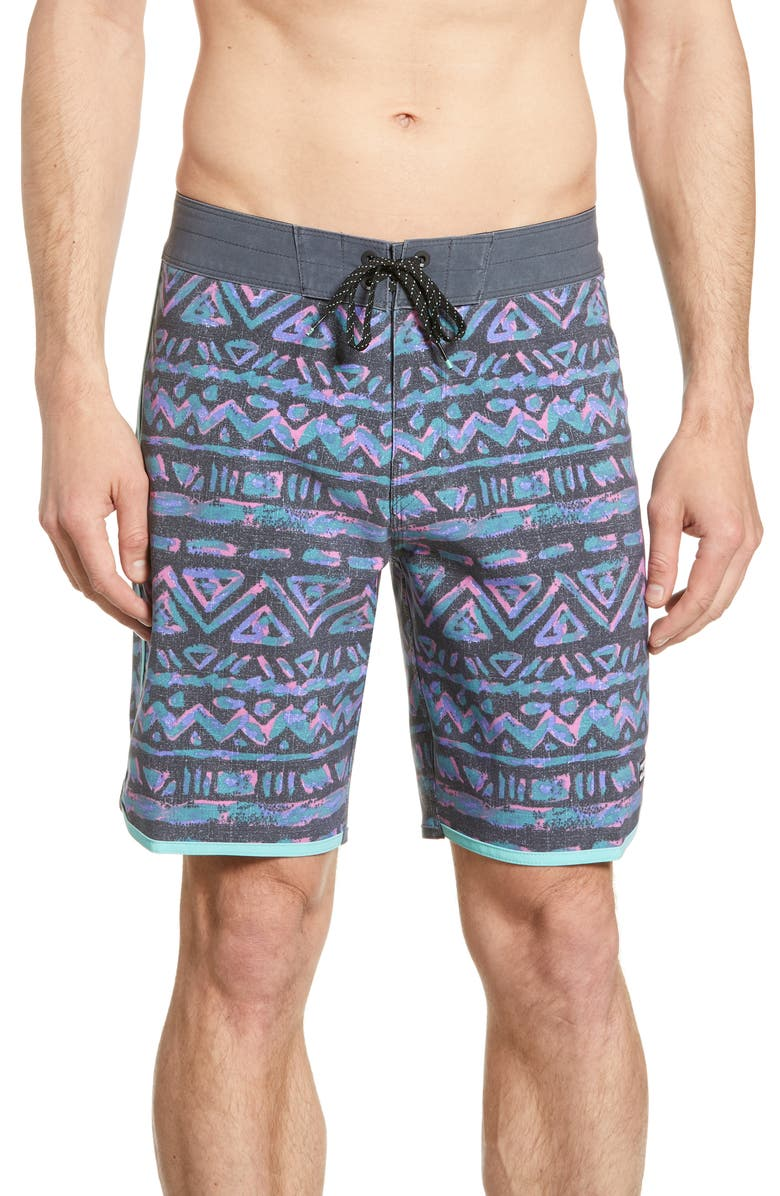 BILLABONG 73 Line Up Pro Board Shorts, Main, color, GREY