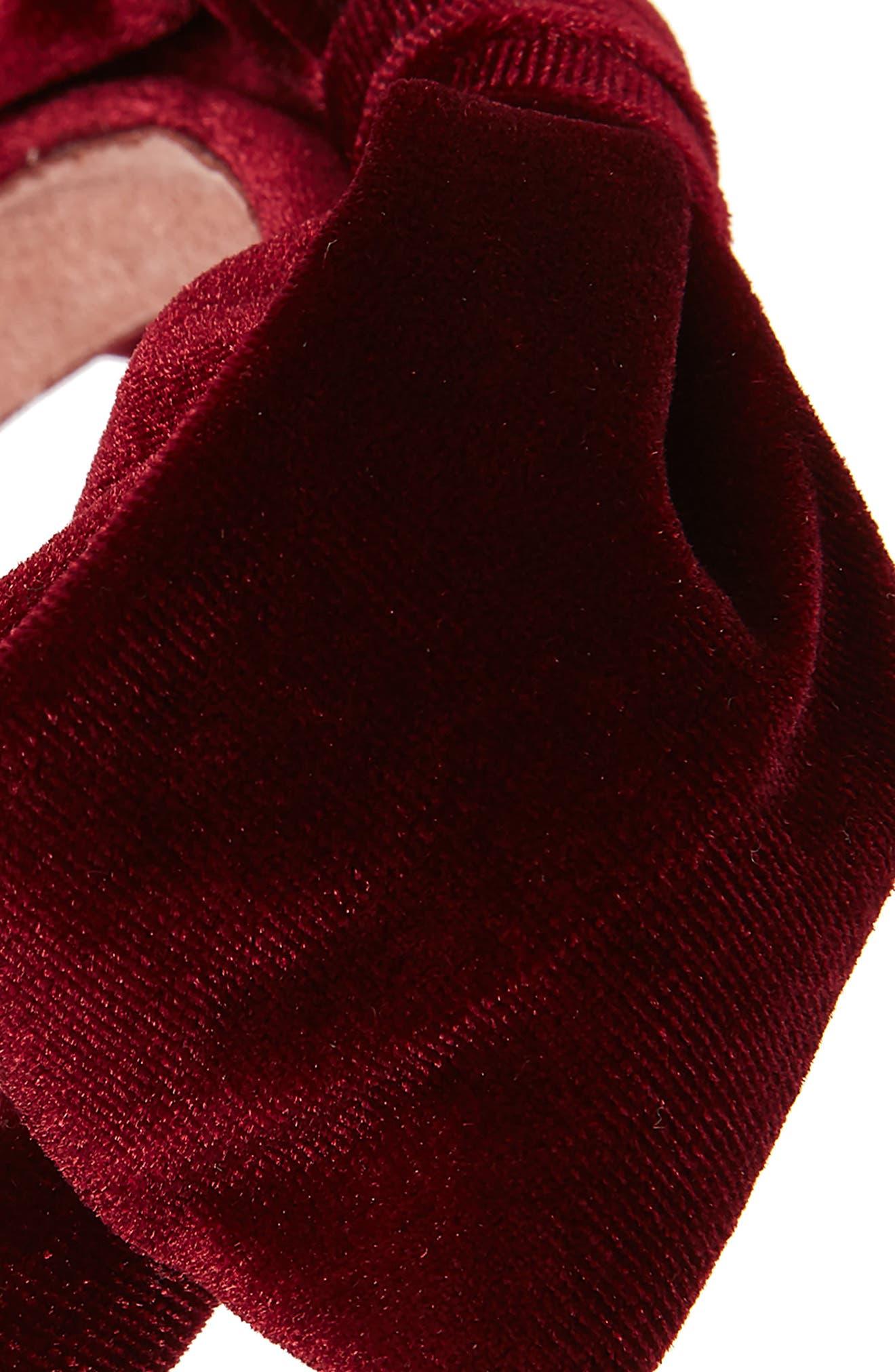 ,                             Velvet Bow Headband,                             Alternate thumbnail 2, color,                             930