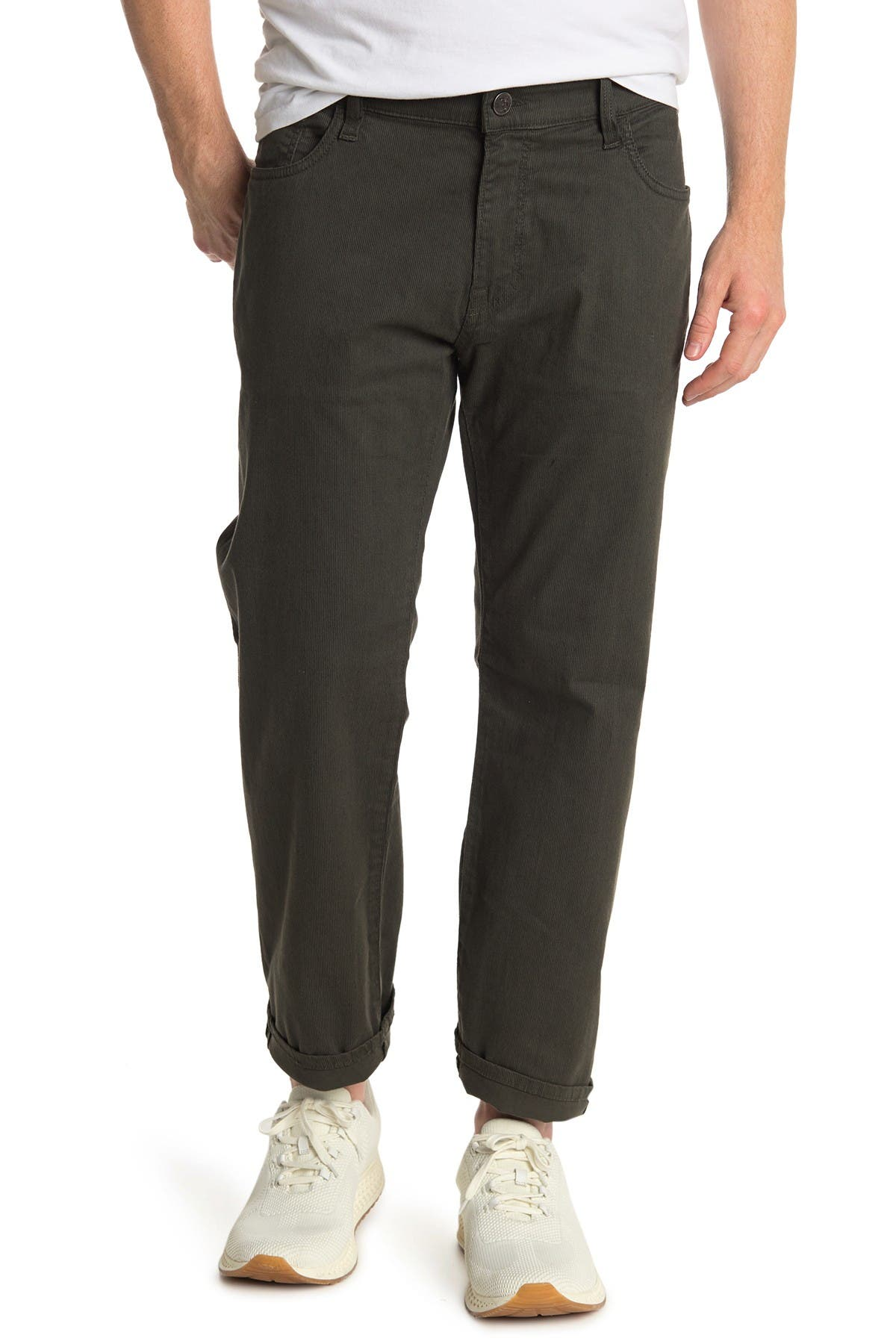 "Image of 34 Heritage Courage Straight Twill Pants - 30-34"" Inseam"