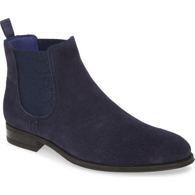 Ted Baker London Travord Chelsea Boot- Blue