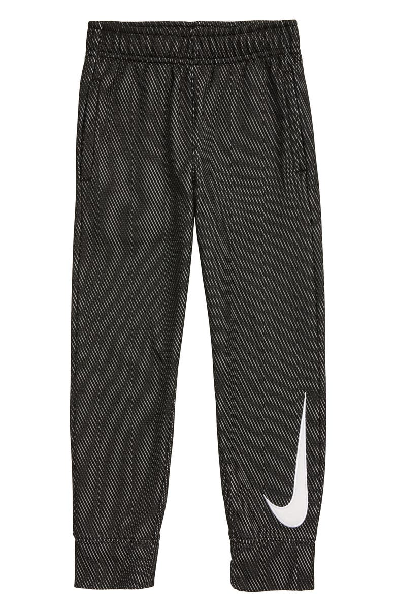 NIKE Heathered Mesh Sweatpants, Main, color, TUSK