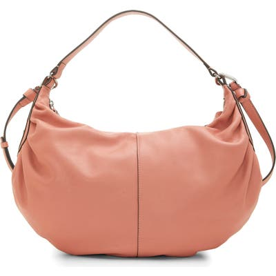 Vince Camuto Lysa Leather Hobo - Pink