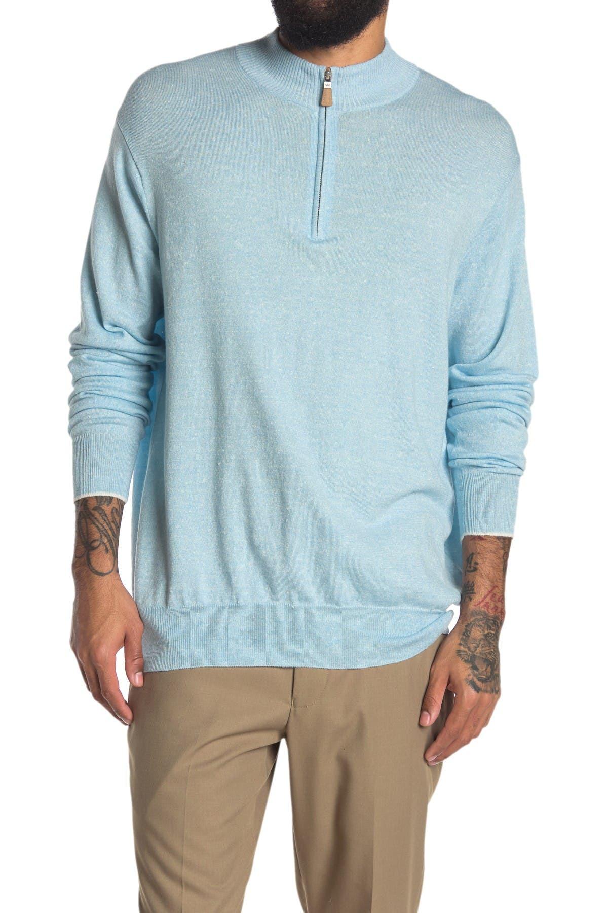 Image of Peter Millar Crown Quarter Zip Pullover Sweater