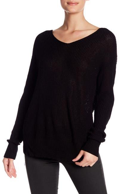 Image of Cotton Emporium Knot Back Sweater