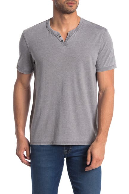 Image of Lucky Brand Vintage Short Sleeve Henley