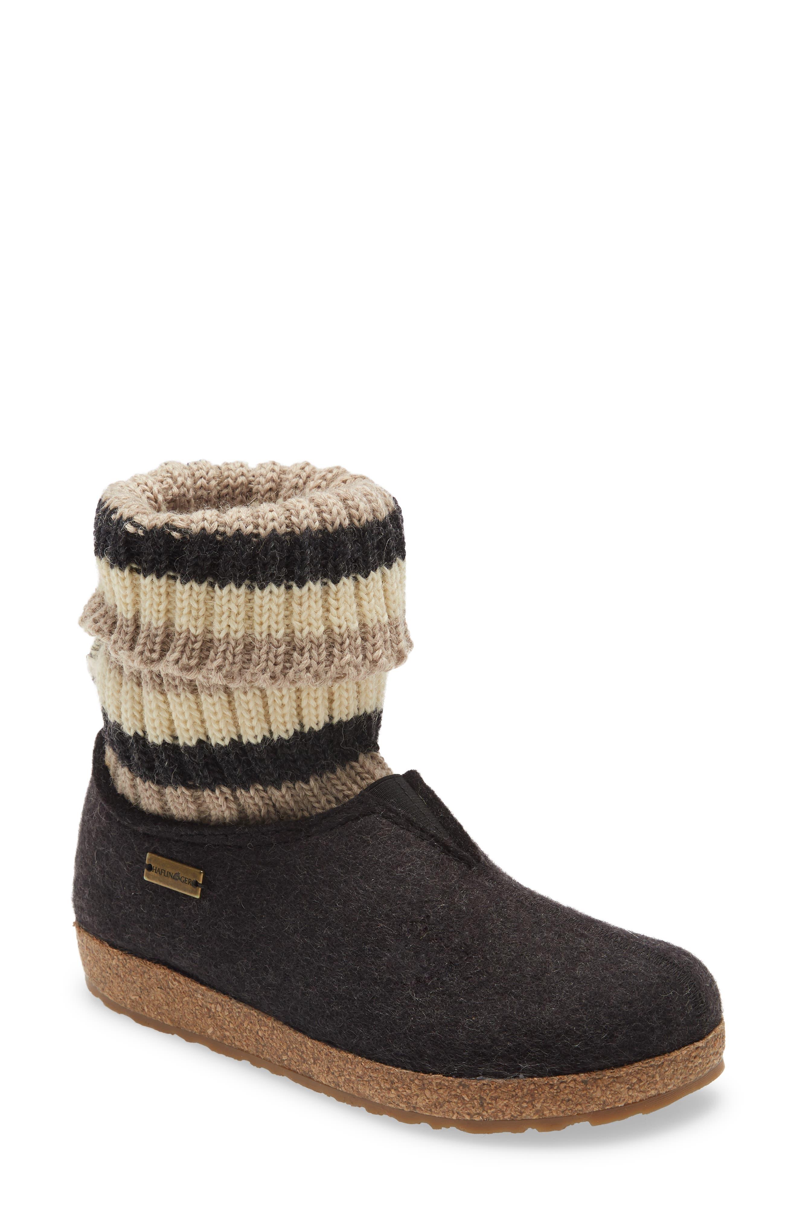 Kristina Knit Sock Slipper Bootie
