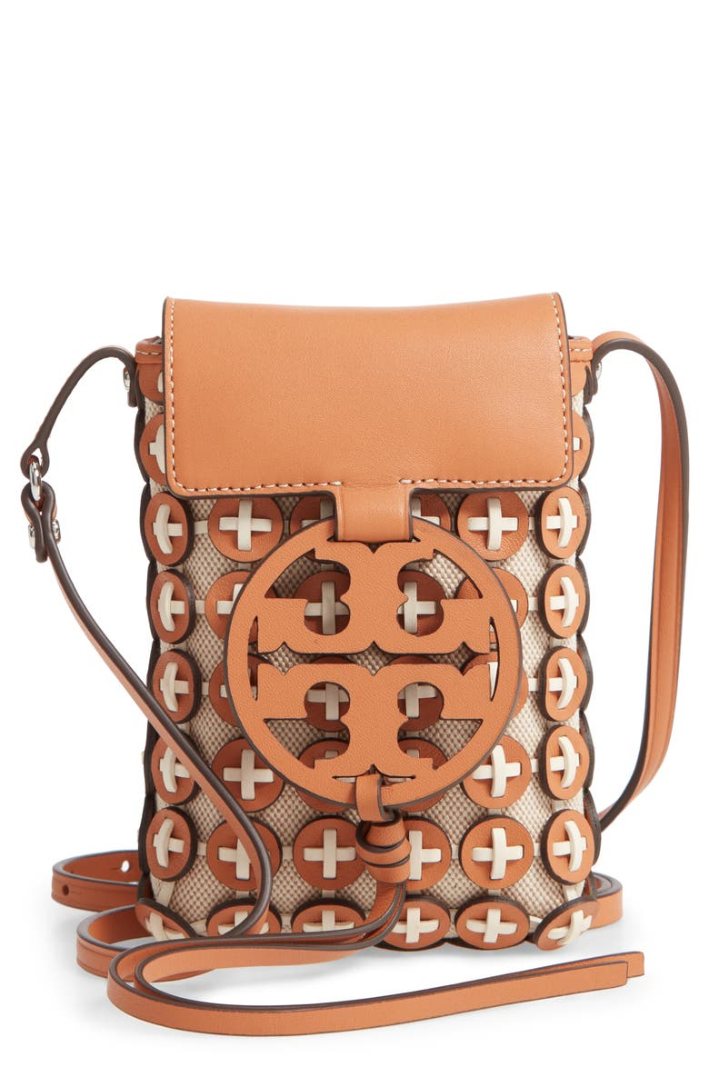 Miller Chain Mail Phone Crossbody Bag by Tory Burch