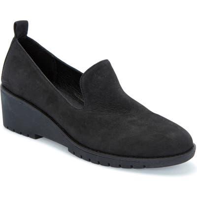 Adam Tucker Nexi Wedge Loafer- Black