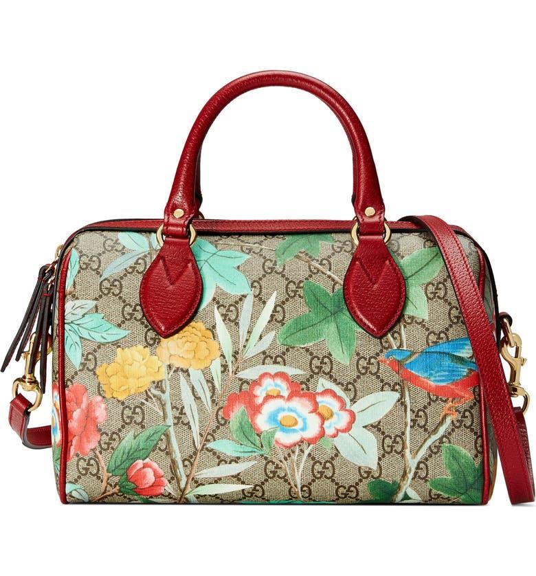 64fcd9c47 Tian Boston GG Supreme Small Canvas Duffel Bag, Main, color, 250